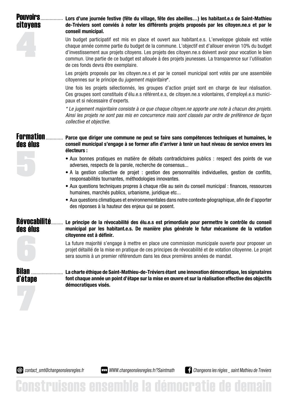 Charte d'ngagement